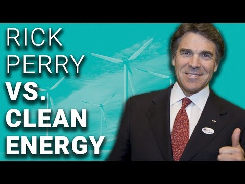 Trump Energy Secy Rick Perry Plans to Kill Wind & Solar