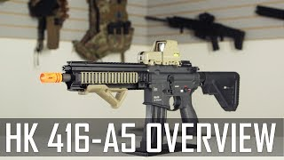 Elite Force H&K 416A5 Overview! - Airsoft GI