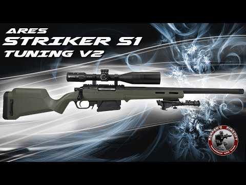[Projekt] Ares Striker S1 Tuning V2 (EdGi, Action Army, Maple Leaf, AED) 6mm Airsoft/Softair 4K UHD