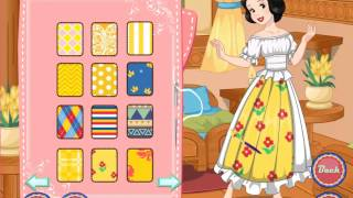 New Game For Kids 2015 - Snow White Patchwork Dress - Best New Game Baby 2015