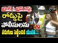 Drunken Women Hulchul in Banjara Hills || Drunk & Drive Test || NTV