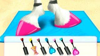 ПРИЧЕСКА и МАНИКЮР ЧЕЛЛЕНДЖ | Мультик игра про салон красоты для животных Fun Animals Care Kids Game
