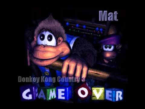 Donkey Kong Country 3 Game Over Remix - YouTube