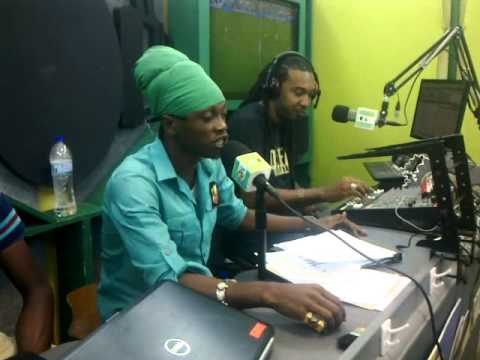 teflon  radio interview in st lucia   real FM 91 3