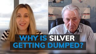 Silver price beaten down but investors can't find any, so what's going on? Peter Hug responds