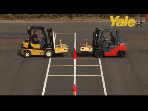 Yale® GP050MX vs. Toyota 8FGU25 Comparison: Fuel Efficiency