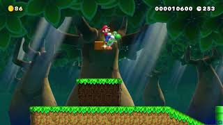 Super Mario Maker 2 [SMBU] Super Mario's Journey 1-3 WHL-8GP-5NF