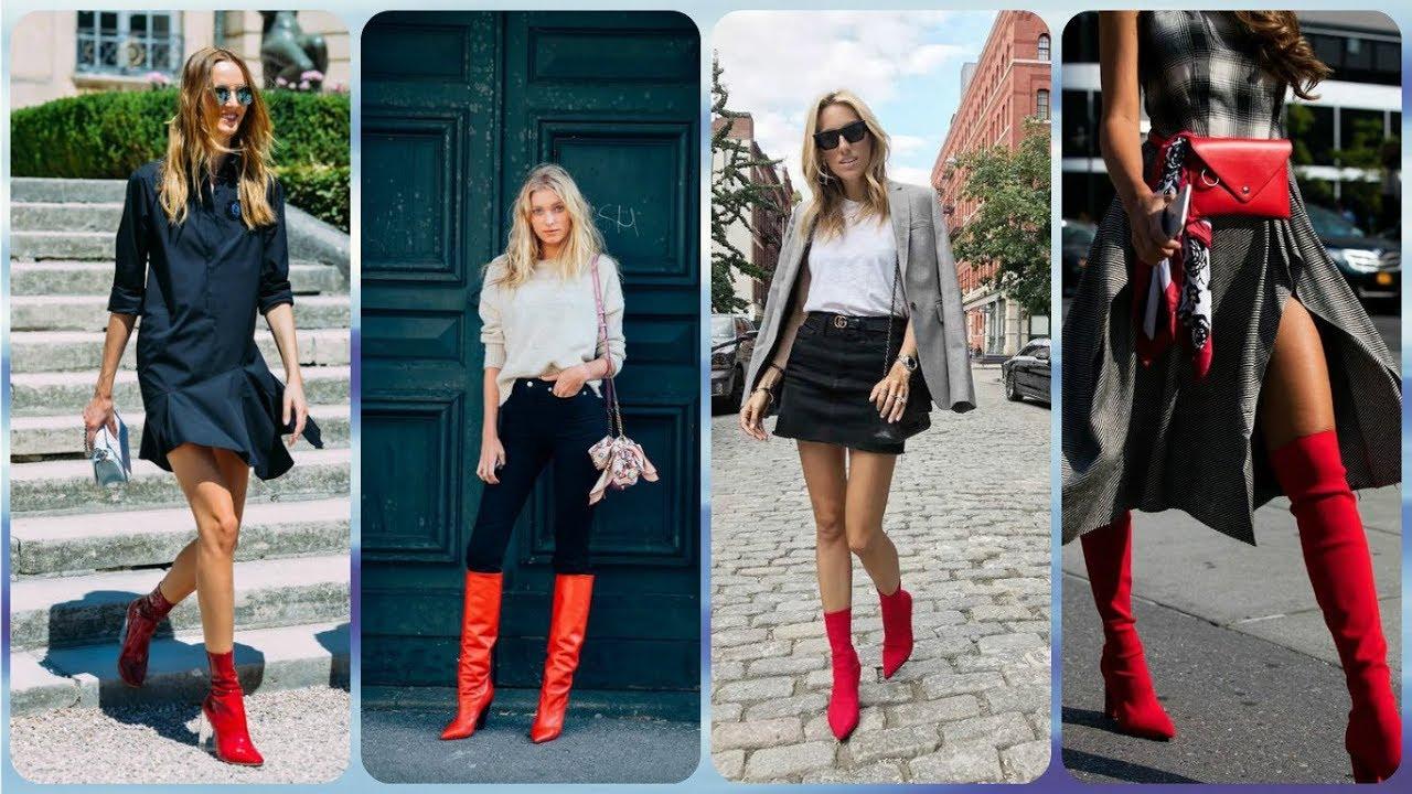 vielfältig Stile Details für Großhandelsverkauf Die aktuelle 20 ideen zu rote damen stiefel frühling 2018