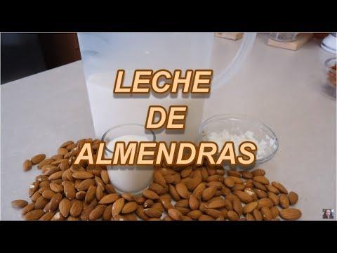 LECHE DE ALMENDRAS - ALMOND MILK - DELICIOSA! - Lorena Lara