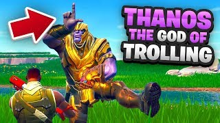 THE GOD OF TROLLING in FORTNITE
