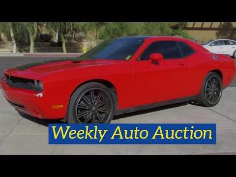 Mesa, AZ Weekly Auto Auction