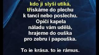 Karaoke klip Opičí kapela - Dětské písničky