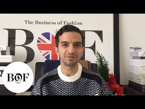 Imran Amed #My2015 | The Business of Fashion