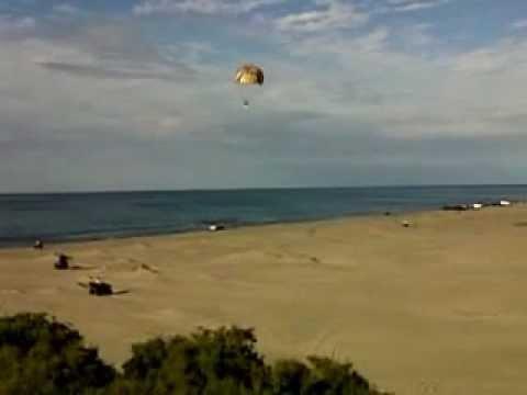 Parachute en la Isla Partida