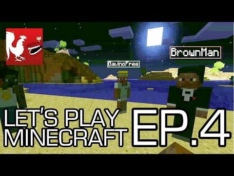 Let's Play Minecraft - Episode 4 - Race to Bedrock!