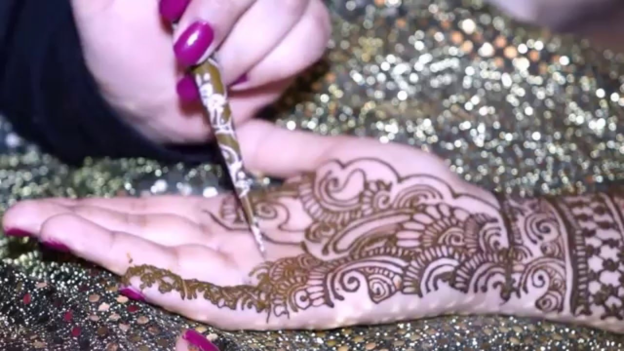 Asian Mehndi Party : Asian bridal party mehndi henna design video by hirah youtube