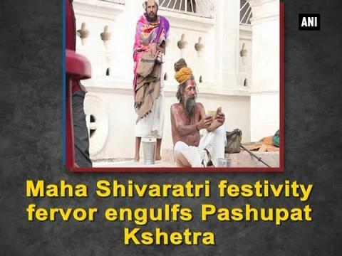 Maha Shivaratri Festivity Fervor engulfs Pashupat Kshetra of Nepal - ANI #News