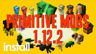 How to install primitive mobs mod