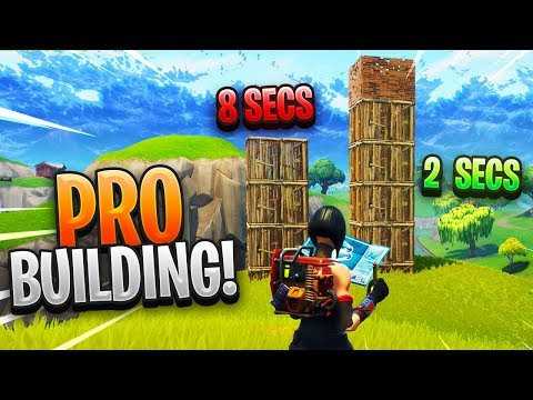 The NEW BUILDING METHOD to build FAST in Fortnite - YouTube