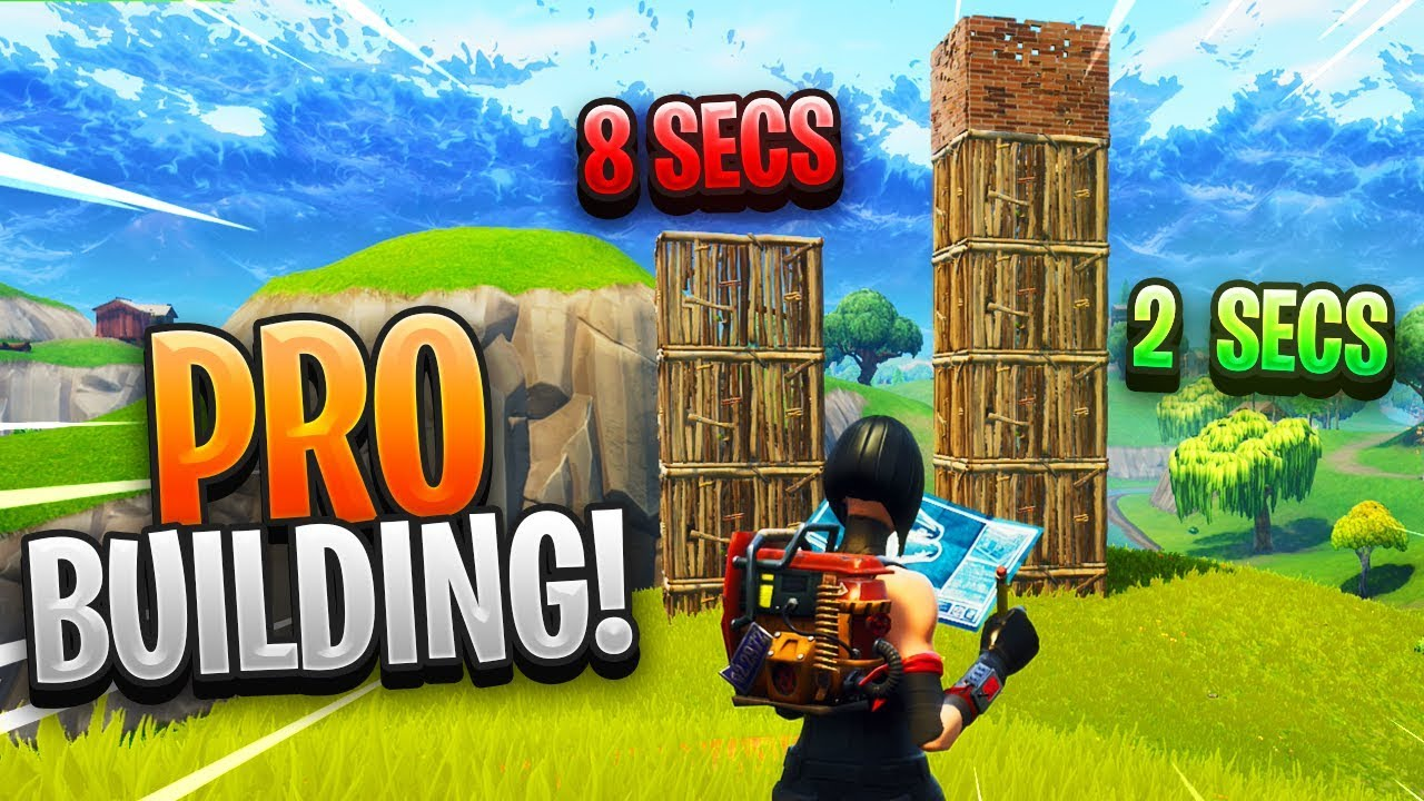 the new building method to build fast in fortnite youtube
