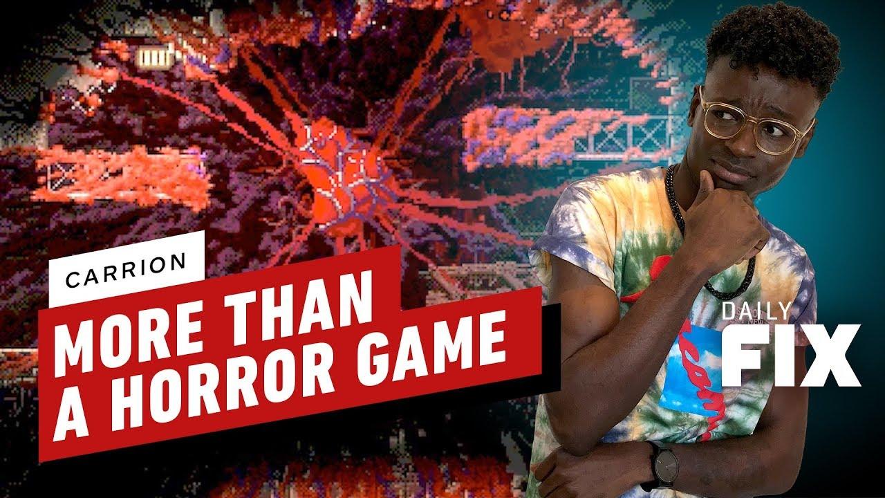 Horror-Platformer-Aas ist klassisches Metroidvania mit einem Twist - IGN Daily Fix + video