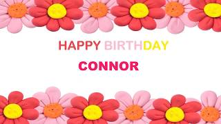 Connor   Birthday Postcards & Postales - Happy Birthday