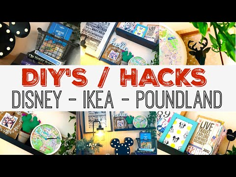 POUNDLAND - DISNEY  & IKEA | HACKS & DIY'S | HOME DECOR