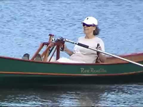 FrontRower forward facing rowing system