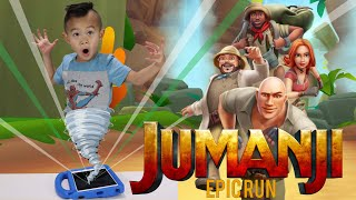 JUMANJI EPIC RUN Gameplay | Jumanji In Real Life the Next Level | Mobile Games | Kaven App Review