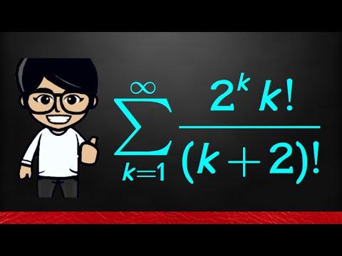 11 7#8 Test for Divergence, series (2^k*k!)/(k+2)!