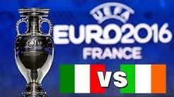UEFA EM 2016: Italien vs. Irland