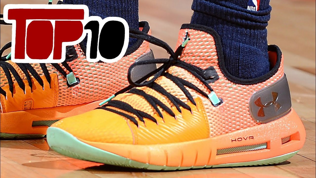 d59b4f6512c2 Top 10 Outdoor Basketball Shoes Of 2018 - YouTube