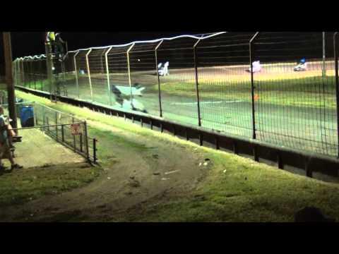 8-23-2014 Gulf Coast Speedway Feature 600 - A Class