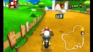 Moo Moo Meadows 1'15''863 Mαττhιεu - Mario Kart Wii World Champion