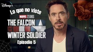 The Falcon and The Winter Soldier Episodio 5  Lo que no viste Referencias  Easter Eggs Tony Stark