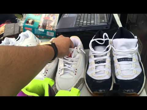 Flea Market Finds #4 Jordan 11 Concord!? Powder Blue 10s!? STEALS!!!