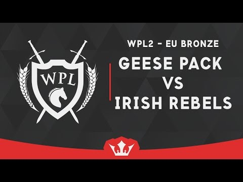 [WPL2] (EU) Bronze Match | Geese Pack vs Irish Rebels