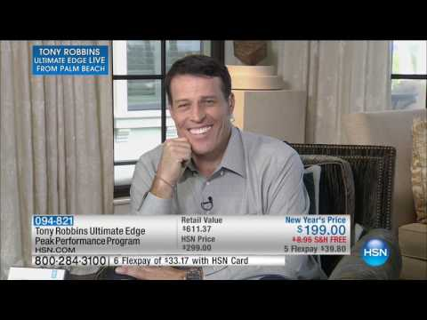HSN | Tony Robbins Ultimate Edge Live from Palm Beach 01.14.2017 - 03 PM