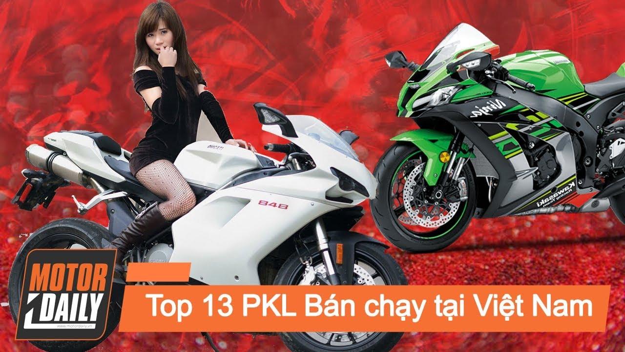 Top 13 Mẫu moto phân khối lớn thịnh hành tại Việt Nam  |MOTORDAILY.VN|