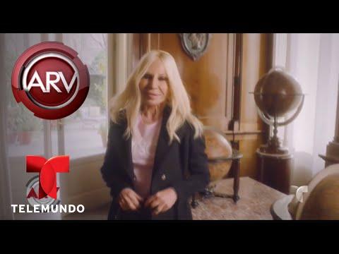 Donatella Versace quiere que pronuncien bien su apellido | Al Rojo Vivo | Telemundo