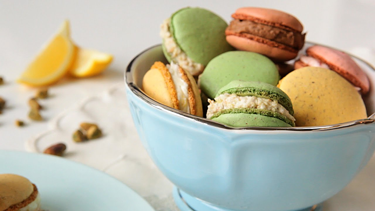 Como fazer macarons youtube for Desayuno frances tradicional