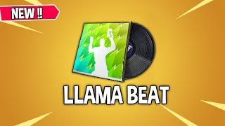 Fortnite - Llama Beat Lobby Music *Leaked* || Fortnite Battle Royale