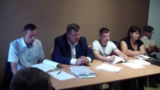 Zebranie wiejskie w Krzymoszycach. Temat: budowa dużej fermy drobiu
