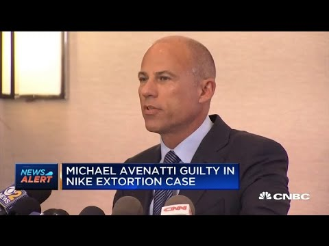 Michael Avenatti trial: Michael Avenatti found guilty in Nike extortion ...