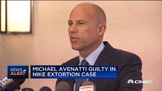 Lawyer Michael Avenatti guilty in Nike extortion case