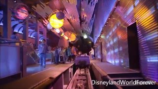 Disneyland Hong Kong - Space Mountain Ride 2016
