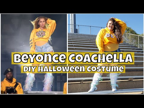 Beyonce Coachella Costume DIY - Halloween 2018