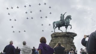Windsor 87 Aircraft Flypast Queen's Diamond Jubilee