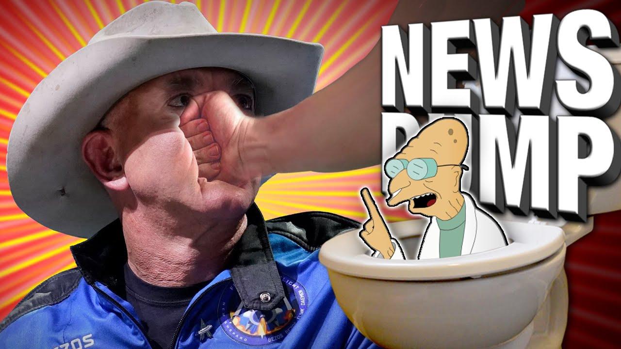 Finally, Some Good News.... Loser Jeff Bezos NOT an Astronaut & More - News Dump