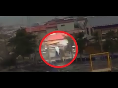 Thumbnail: During Japan Tsunami a strange creature was caught on camera - real footage